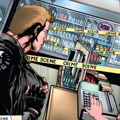 Barton descubre que Coulson detuvo un asalto.