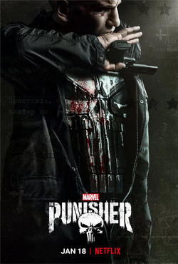The Punisher - T2 Póster oficial
