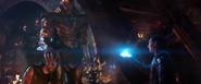 Loki handing over the Tesseract for Thor
