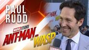 Paul Rudd at Marvel Studios' Ant-Man and The Wasp Premiere