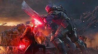 Avengers Endgame - Scarlet Witch vs Thanos (LATINO)