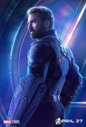 Avengers Infinity War Captain America poster
