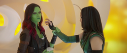 Gamora and Mantis