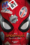 Spider-Man Far From Home July 2 (poster)
