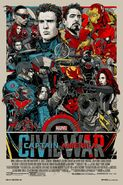 Captain America Civil War Mondo Poster 1