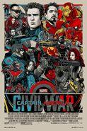 Captain America Civil War Mondo Poster 1