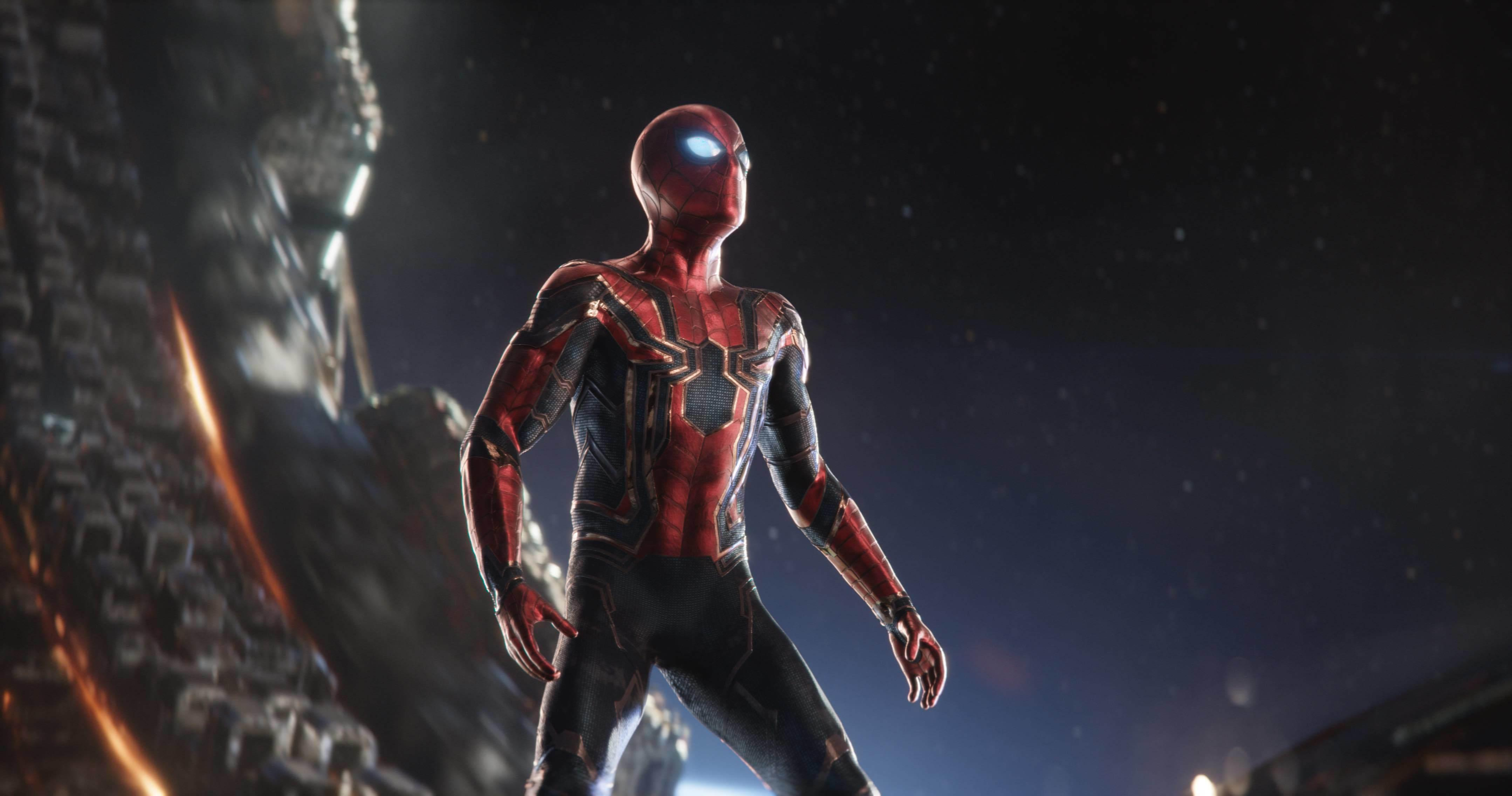 Iron Spider Armor Marvel Cinematic Universe Wiki Fandom Powered
