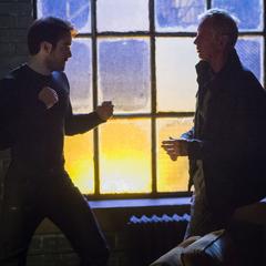 Murdock lucha contra Stick.
