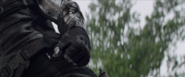 Winter Soldier's Arm-Up close