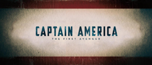 Captain America The First Avenger Title Card (2011)