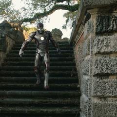 Stark antes de encontrarse con Rhodes.