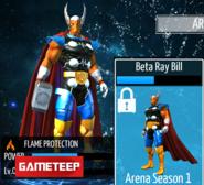 Beta Ray Bill Armor