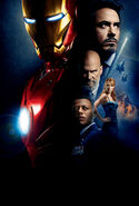 Iron Man Textless Theatrical Poster