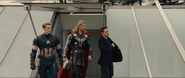 Cap, Thor & Tony