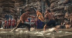 Killmonger confronta a T Challa