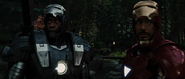 War Machine & Iron Man (IM2)