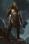 Thor The Dark World 2013 concept art 12