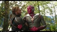 Captain America & Vision (Infinity War BTS)