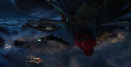 Spider-ManLookingAtDecoyDrone-Plane