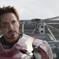 Stark confronta a Rogers.