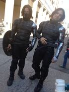 Winter Soldier behind the scenes 9