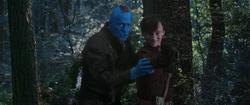 Yondu entrena a Quill