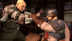 Cap-Strucker fight