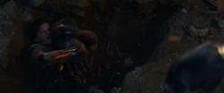 Spider-Man meets Captain Marvel