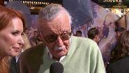 Stan Lee Brings his Magic to Marvel's Doctor Strange Red Carpet Premiere