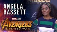 Angela Bassett Live at the Avengers Infinity War Premiere