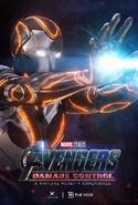 Avengers Damage Control Suit Poster