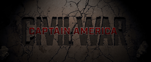 Captain America Civil War Title Card (2016)