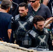 Civil War set photo 10