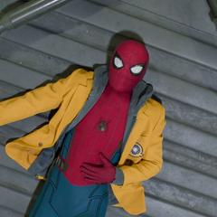 Parker atrapado en la bóveda de Control de Daños.