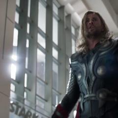 Thor en busca de Loki.