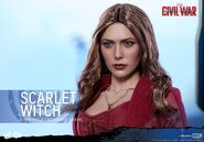 Scarlet Witch Civil War Hot Toys 16