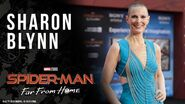 Sharon Blynn LIVE from the Spider-Man Far From Home red carpet
