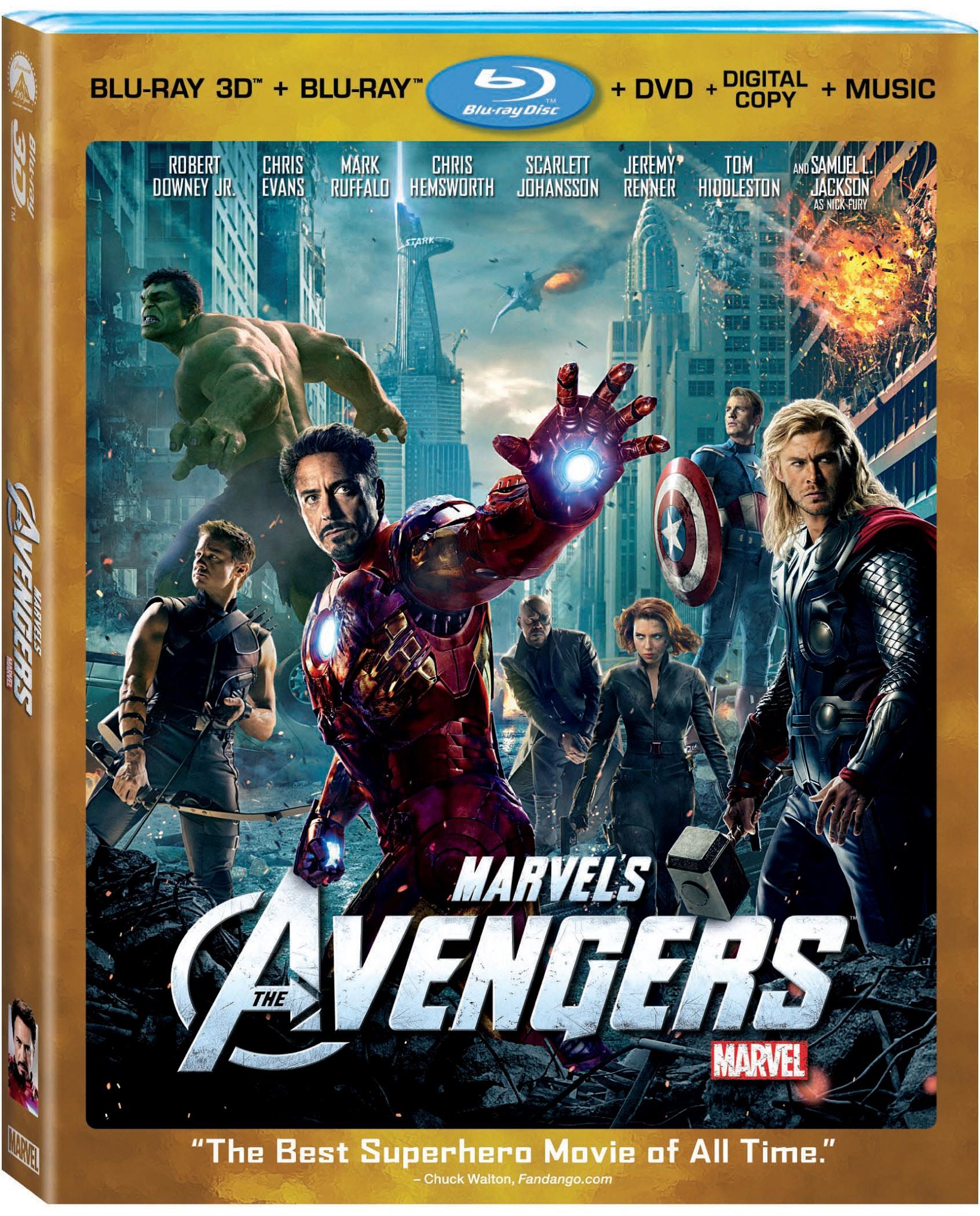 marvel film 3d