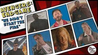 """Avengers Endgame Cast Sings """"We Didn't Start the Fire"""""""