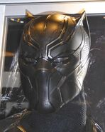 Black panther mask Civil War costume