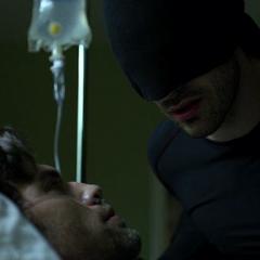 Murdock habla con Christian Blake.