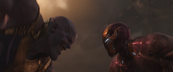 Thanos vs. Iron Man