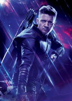 Avengers Endgame - Póster sin texto Clinton Barton