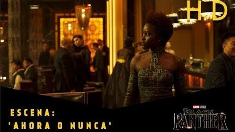 Black Panther de Marvel Escena 'Ahora o nunca' l HD