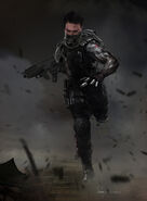 Captain America The Winter Soldier 2014 concept art 33