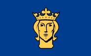 Flag of Stockholm