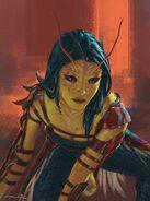 GotGV2 Concept Art Mantis 1
