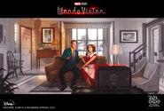 WandaVision D23 ConceptArt poster