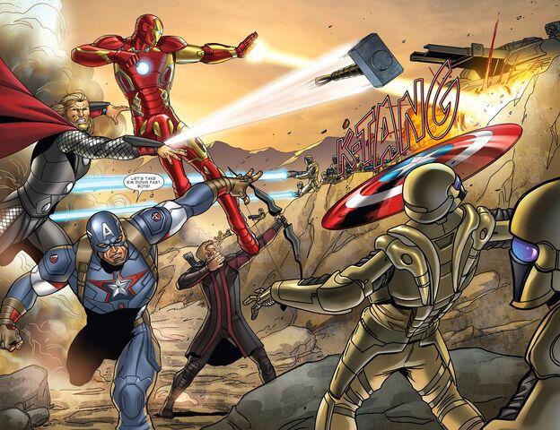 File:Avengers vs HYDRA.jpg