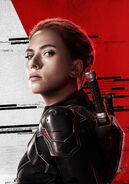 Black Widow Textless Poster